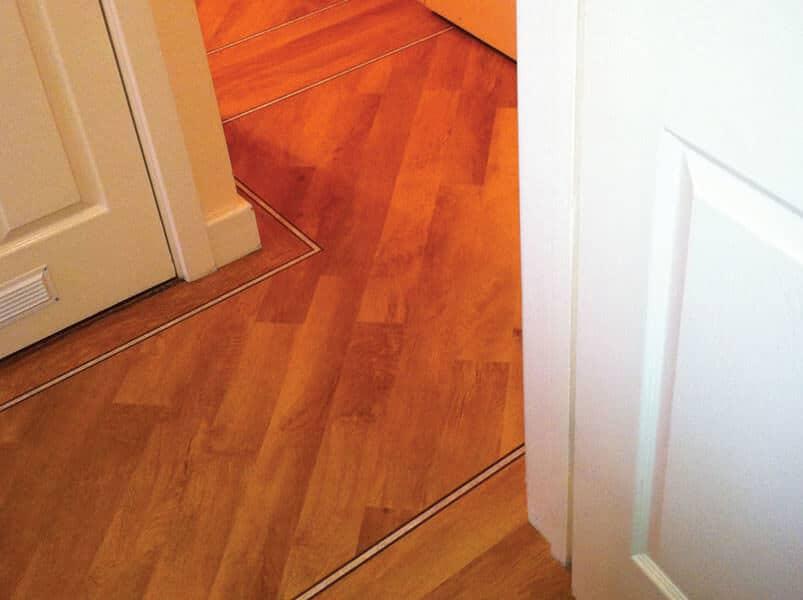 Karndean Flooring installed in bungalow